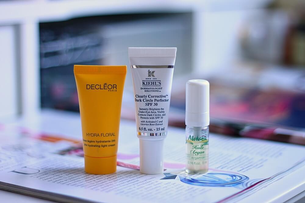 decleor hydra floral light kiehls spf eyes melvita arganovo ulje recenzija