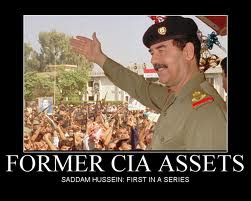 Saddam Hussein began working for the CIA as early as 1959.