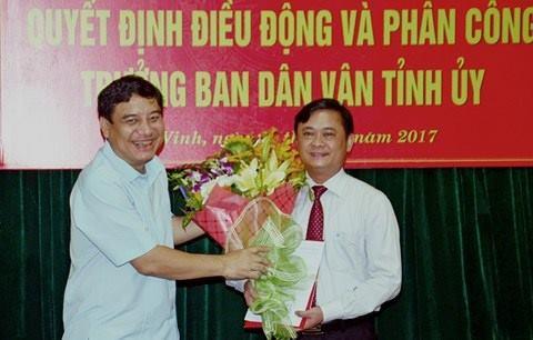 Bí thư tỉnh ủy Nguyễn Đắc Vinh