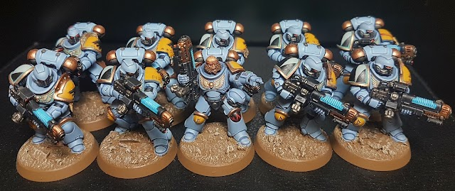 What's On Your Table: Primaris Space Wolves