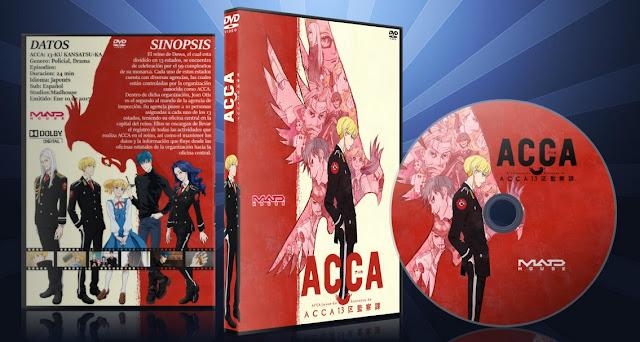 ACCA 13-Ku Kansatsu-Ka | Cover DVD |