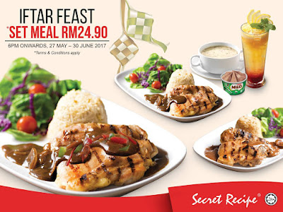 Secret Recipe Malaysia Iftar Feast Set Meal Ramadhan Promo