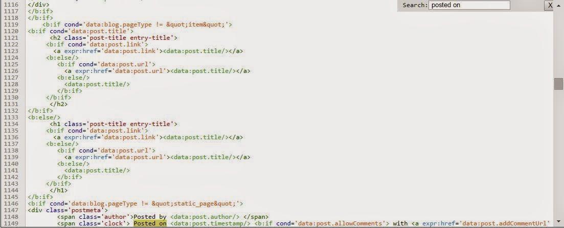 html editor blogger