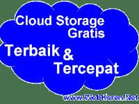 Cloud Storage Gratis Terbaik Paling Cepat dan Terpopuler