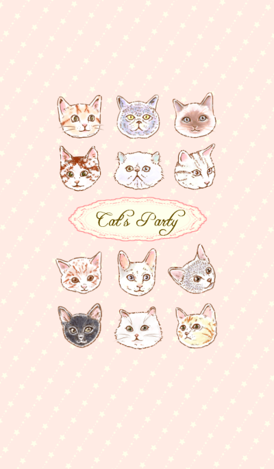 Cat's Party ~ Girly version~