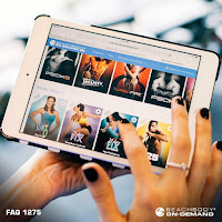 Fitness on the go. New app called Beachbodt on Demand gives you access to hundreds of workout at your fingertips. Perfect for people who travel a lot.