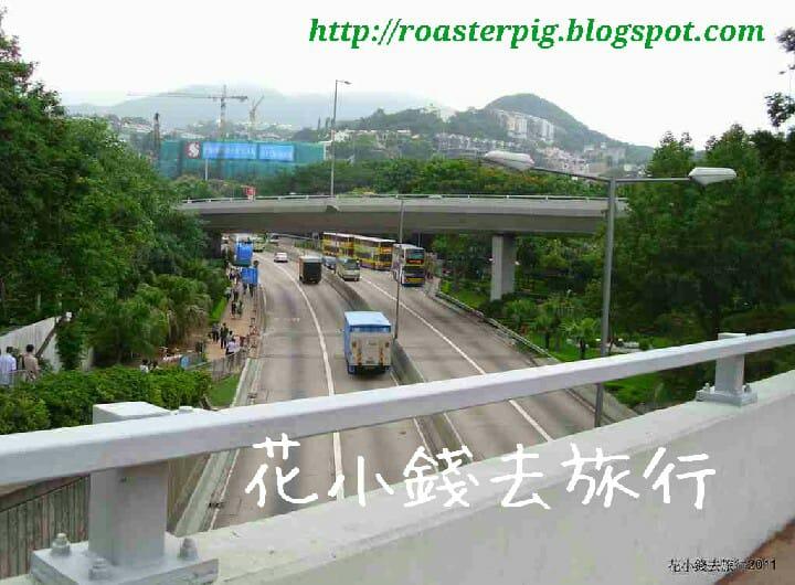 香港仔隧道收費廣場巴士站