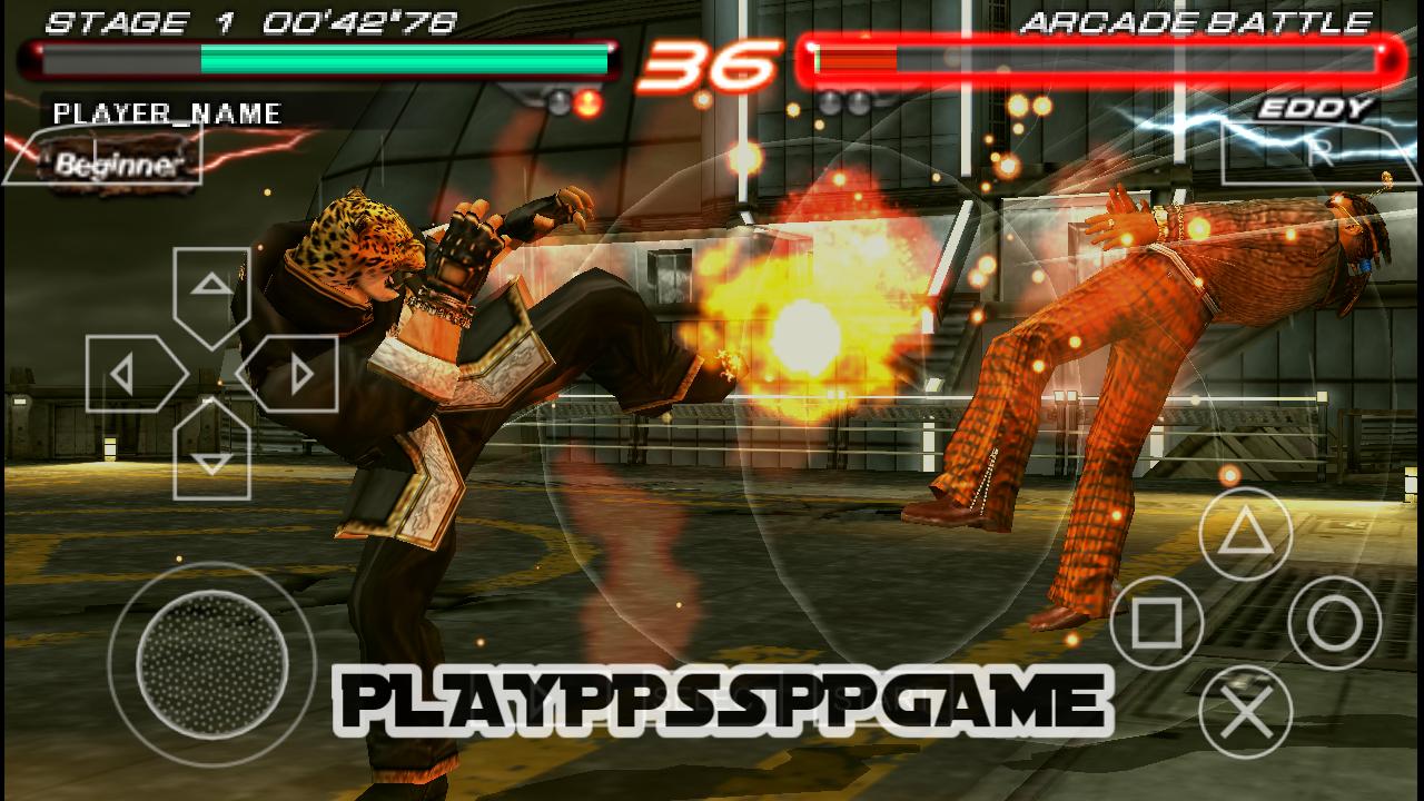 Tekken 6 PSP ISO PPSSPP For Android/iOS