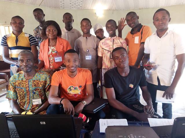 Our End Poverty Through ICT Project in Benue State Nigeria was a success !
