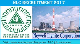 NLC job vacancies 2017