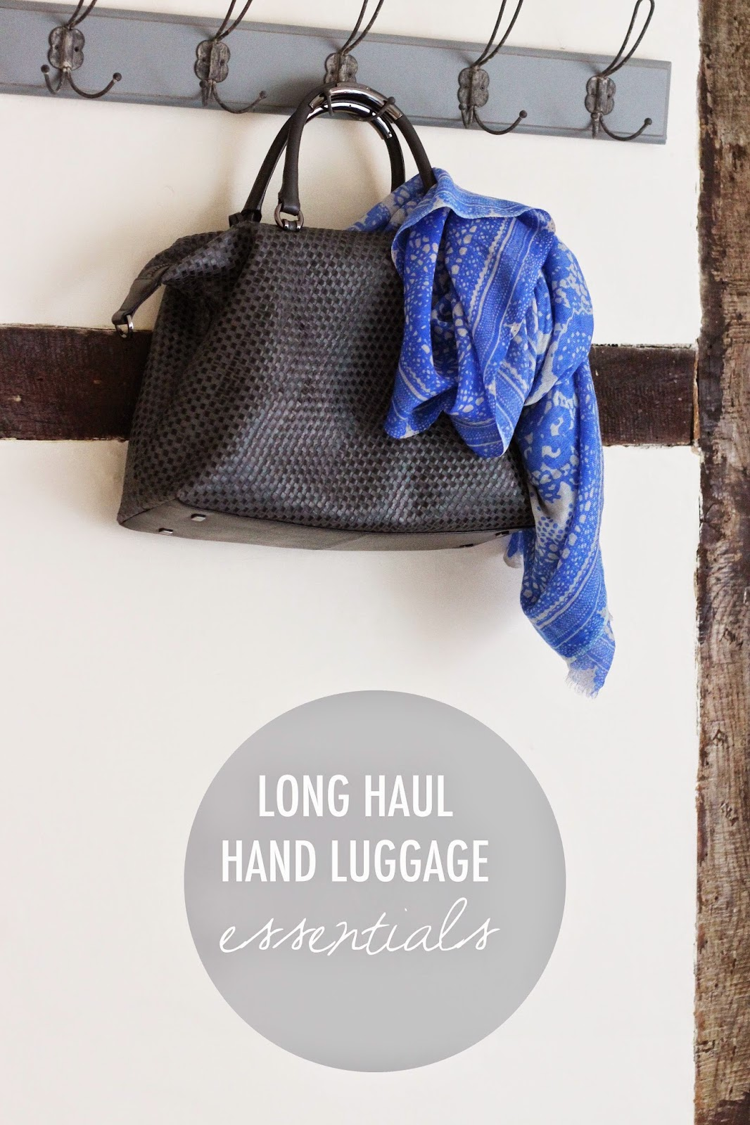 What's In My Hand Luggage | Survival Kit For Long Haul Travel