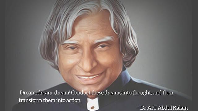 Dr APJ Abdul Kalam Quotes Wallpaper