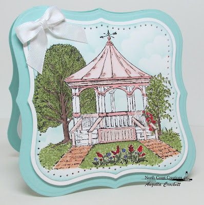 "North Coast Creations ""Gazebo"" Card Designer Angie Crockett"