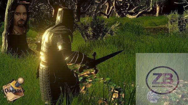 The Monk The Warrior The Heart Of The King PC Action Game