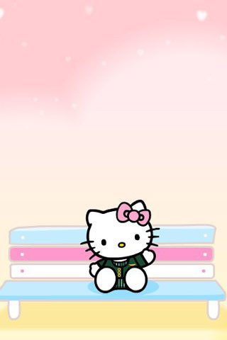 Cute Pink Hello Kitty Wallpaper For Iphone Wallpapers For Pc And