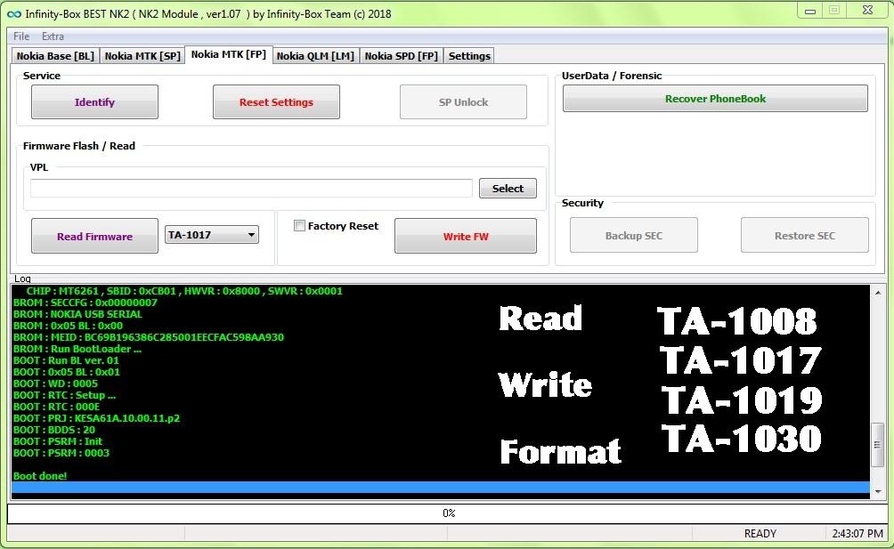 How To Read/Write & Format TA-1017, TA-1008, TA-1019, TA