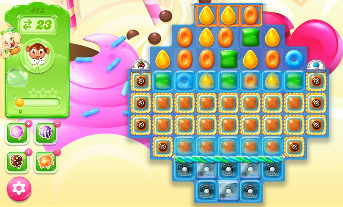 Candy Crush Jelly Saga level 693