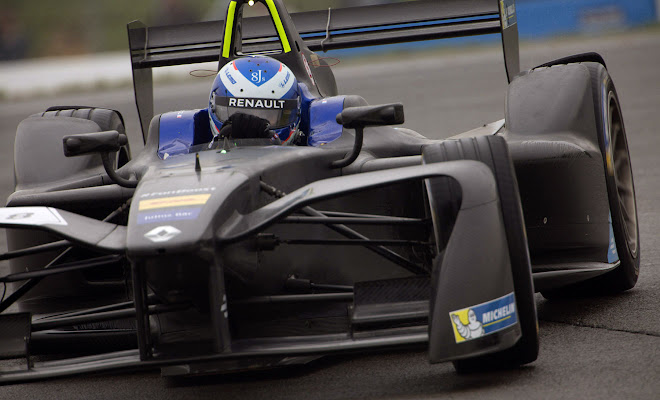 Renault's 2016 Formula E car in testing