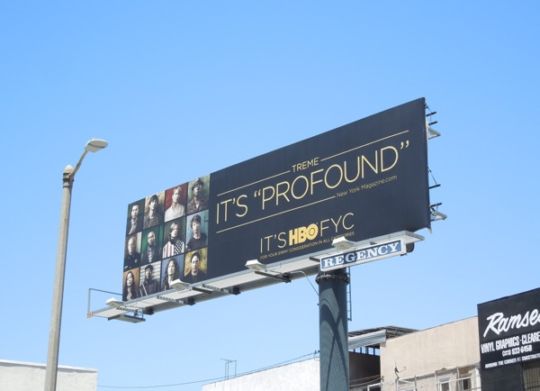 Treme Profound Emmy HBO billboard 2013