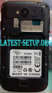 Itel IT1355 No Service Fix Pac Firmware Flash File Download 01