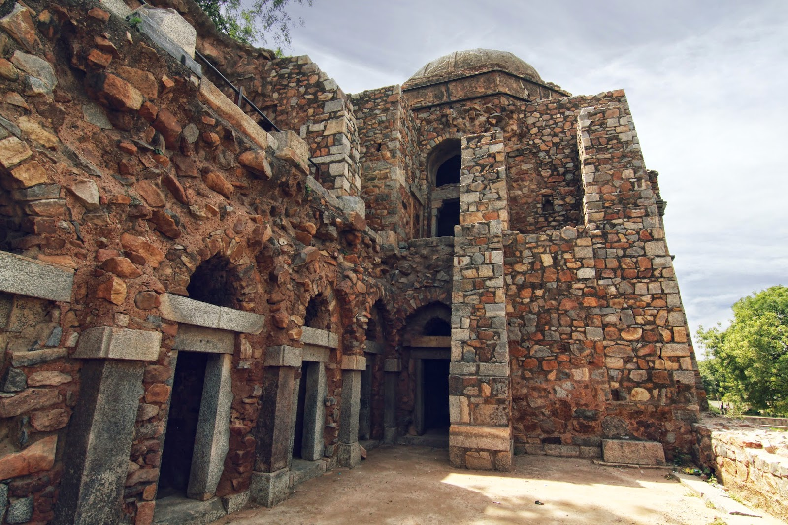 hauz khas village travel blog