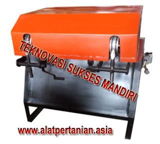 Spesifikasi Mesin Pengupas Batok Kelapa dua Mata Pisau :