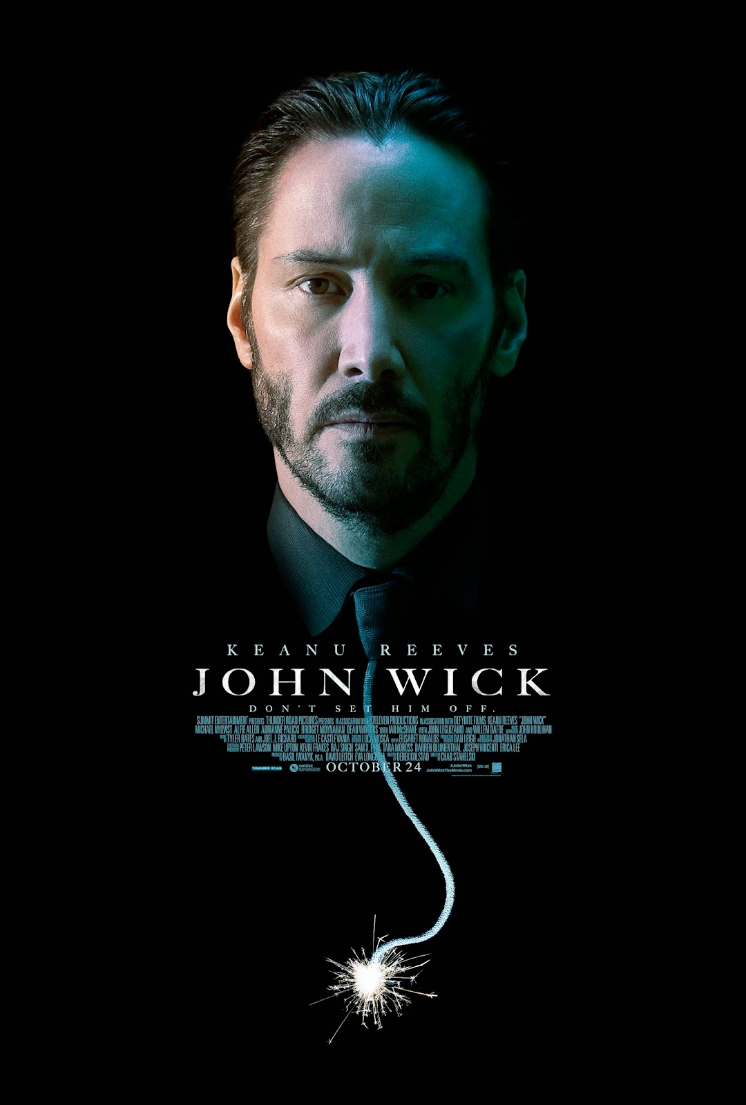 New Posters: JOHN WICK, ANNIE, GOOD KILL, THE HOMESMAN ...