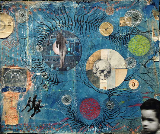 Mixed Media titled Countdown reconfigured plans
