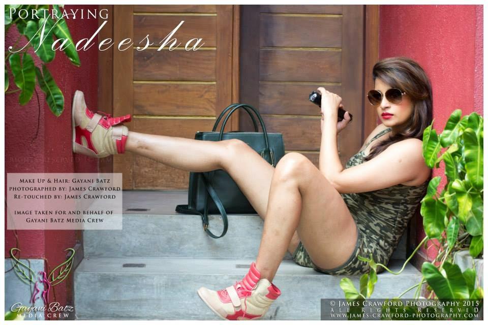 nadeesha hot shoot