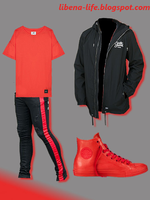 STYLIZACJA #73: RED & BLACK
