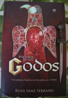 Portada del libro Historia de los godos, de Rosa Sanz Serrano
