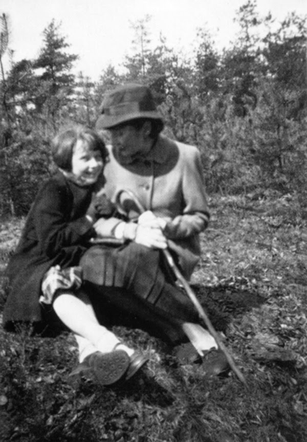 Audrey hepburn and her mother in arnhem during the war 1942