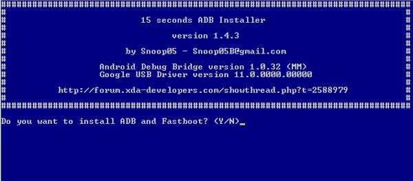 Cara Terbaru Install ADB Driver dan Fastboot di Windows 2 Cara Terbaru Install ADB Driver dan Fastboot di Windows