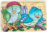 Game puzzle hewan little bird