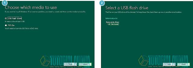 Cara Mudah membuat disk instalasi untuk Windows 10