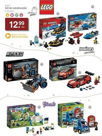 Set juegos lego Juniors - City - Speed - Friends - Technic
