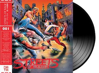 musica vinilo streets of rage sega