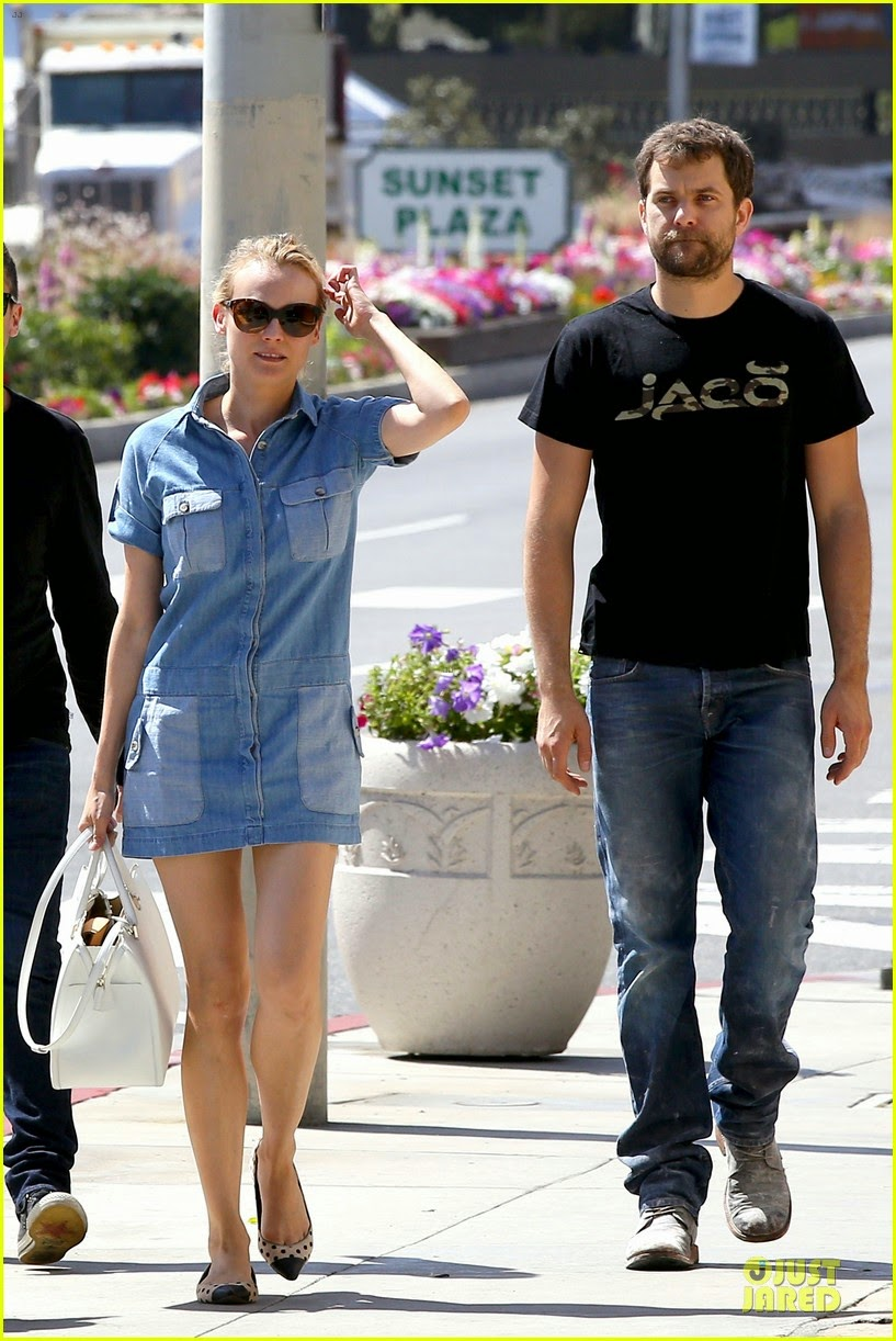 celeb diary diane kruger joshua jackson doing some shopping in west hollywood. Black Bedroom Furniture Sets. Home Design Ideas