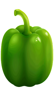 green paprika clipart