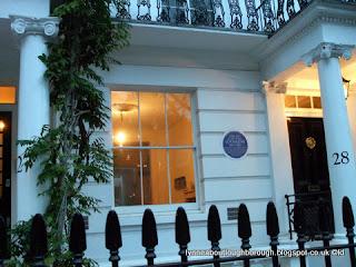 Joseph Hansom's London House and blue plaque
