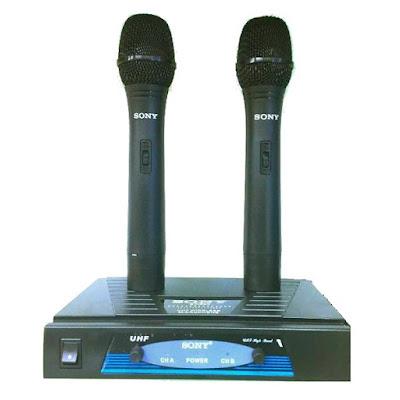 Harga SONY Wireless Microphone