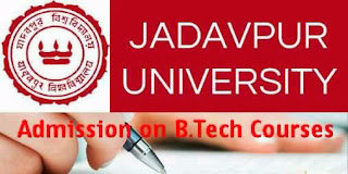 Direct Admission at Jadavpur University on B.Tech courses & Open Counselling 1