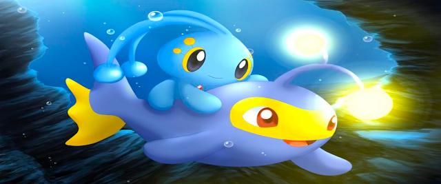 Pokémon: Ranger y el Templo del mar (2.9GB) (HDL) (Latino) (Mega)