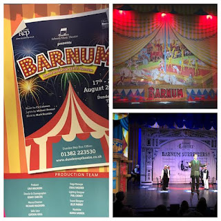 Dundee Schools' Music Theatre perform Barnum August 2016