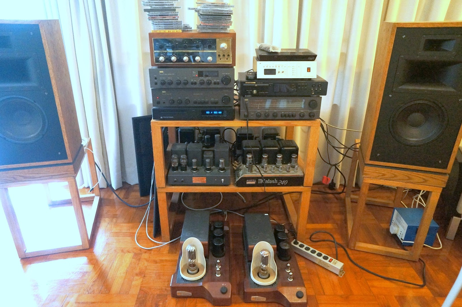 Doctorjohn Cheaptubeaudio: Audio Reviews and More: NAD 3020, 3140