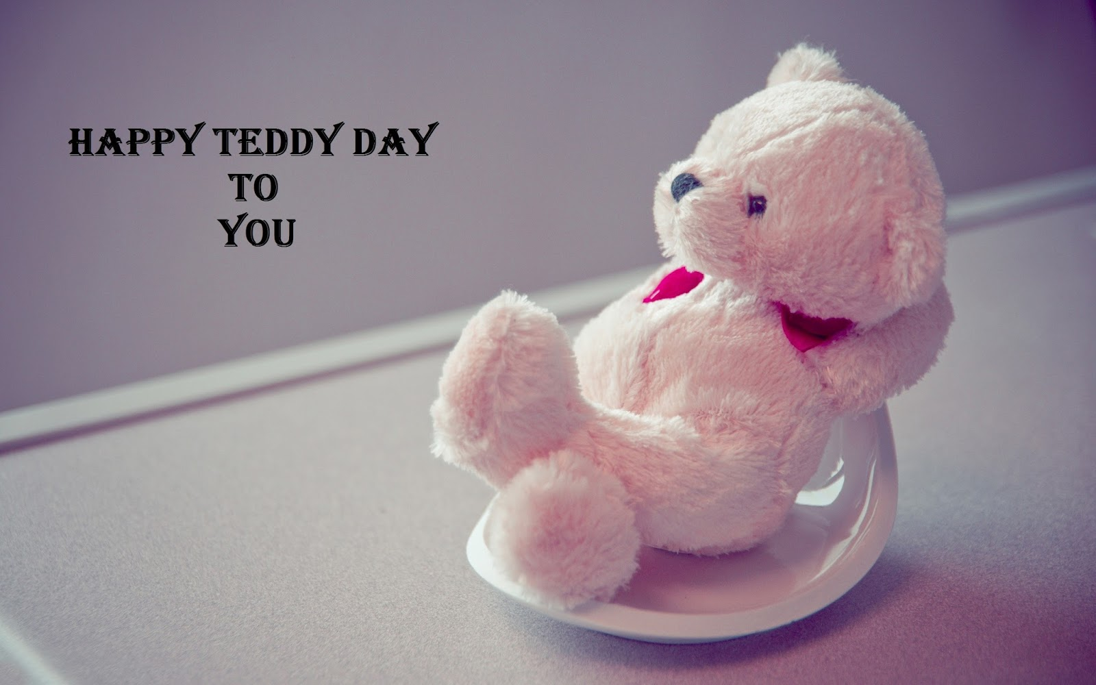 happy teddy day wallpaper