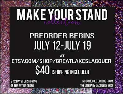 Great Lakes Lacquer + Literary Lacquers: Make Your Stand Collection