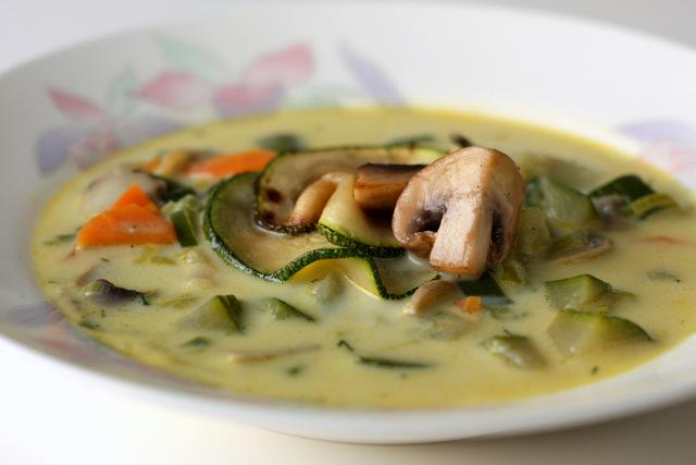 Čorba od povrća sa pečurkama