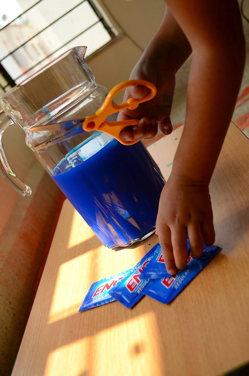 Kids Science Activity: Eno Explosion
