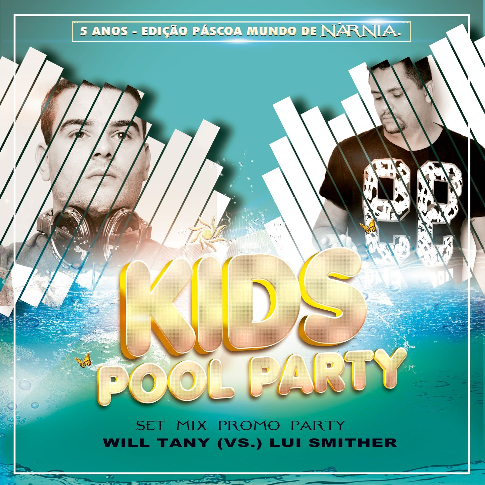 Lui Smither Vs. Will Tany - Kids Pool Party Set Promo